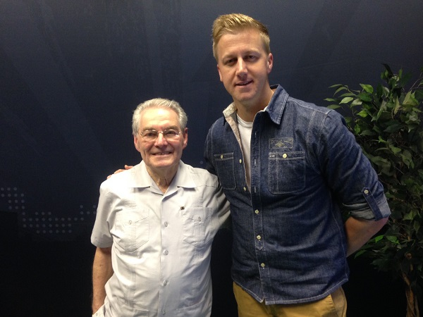 150303 gcs gareth cliff show Holocaust survivor Tomi Reichental