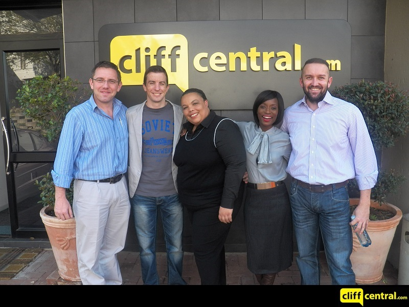 150507 Future CEOs CliffCentral How To Start A Business With No Capital Gareth Armstrong Hlubi Mboya ActionCOACH Shanduka Ignitor (800 x 600 with strap)