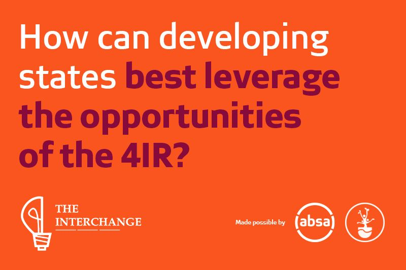 How can developing states best leverage the opportunities of the 4IR?